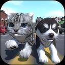 Cute Pocket Cat And Puppy 3D APK
