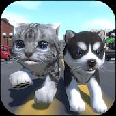 Cute Pocket Cat And Puppy 3D APK download