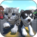 Cute Pocket Cat And Puppy 3D file APK Free for PC, smart TV Download