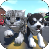 Cute Pocket Cat And Puppy 3D Apk Download Free for PC, smart TV