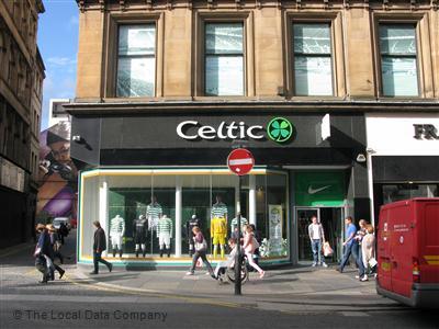 3985778f06d Celtic Shop on Argyle Street - Sports Goods Shops in City Centre ...
