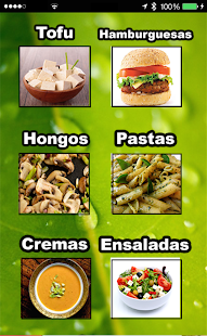 Recetas Vegetarianas- screenshot thumbnail