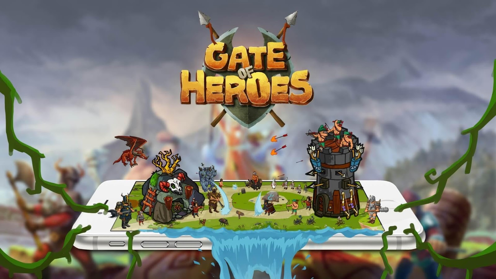Gate Of Heroes- screenshot