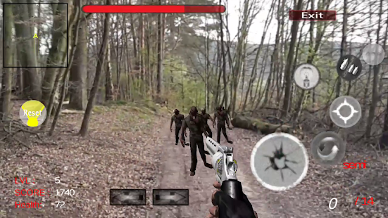Zombie Shooter Game AR Dead Walking - náhled