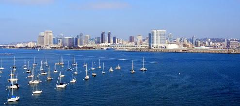 Photo: Views of San Diego downtown from Coronado Island