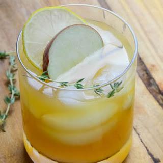 Bourbon Cider Punch.