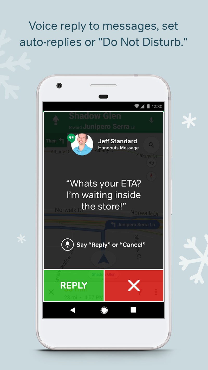 Drivemode: Safe Driving App Screenshot 1