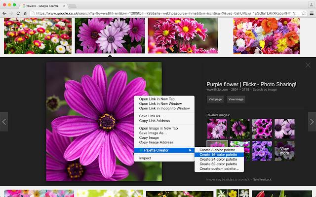 Palette Creator Screenshot