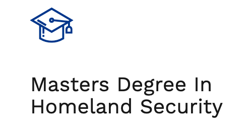Masters Degree in Homeland Security
