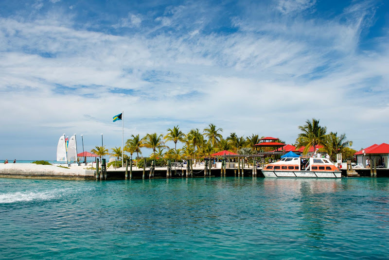 Princess Cays is a tourist resort at the southern end of the island of Eleuthera in the Bahamas.