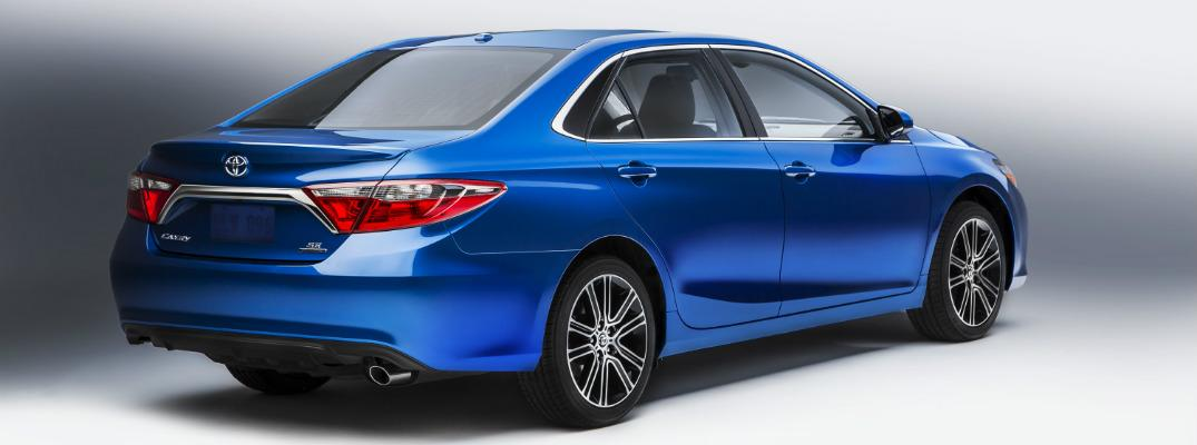 Burnaby Toyota Dealership - 2016 Toyota Camry in Blue