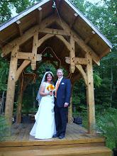 Photo: Mountain Rest, SC - Hand Carved Gazebo - 6/10   ~ http://WeddingWoman.net ~