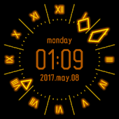 Gold Shine Watch Face