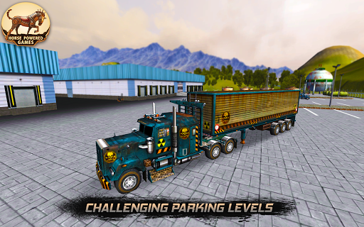 European Truck Parking Sim