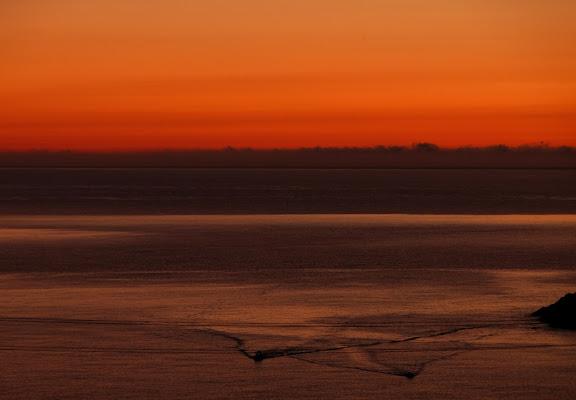 Barche all'alba