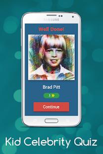 Download Kid Celebrity Quiz For PC Windows and Mac apk screenshot 2
