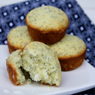 Quick and Easy Lemon Poppy Seed Muffins.