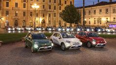 El nuevo Fiat 500X presentado a la prensa en Turín
