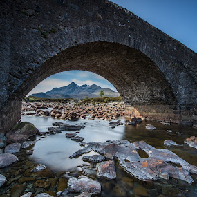 Black Cuillin by Haim Rosenfeld - Landscapes Waterscapes ( dreamy, old, mountain, stone, rock, travel, glow, contemplate, long, shot, time, frozen time, framing, sky, ancient, tree, nature, shadow, movement, place, light, black, foreground, celtic, dream, colors, mood, horizon, highlands, window, outdoors, opening, scene, lines, view, bridge, exposure, scotland, reflection, stream, europe, colorful, waterscape, land, beauty, north, israel, landscape, frozen, coast, mountains, adventure, kingdom, long exposure, rock formation, nikon, rocks, cuillin, clouds, water, uk, united, green, beautiful, scottish, scenic, history, great, blue, outdoor, brown, scenery, medieval, milky, stunning, river, britain )
