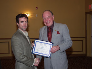 Photo: Geoffrey Lynch of Dessau received a TEGA Award