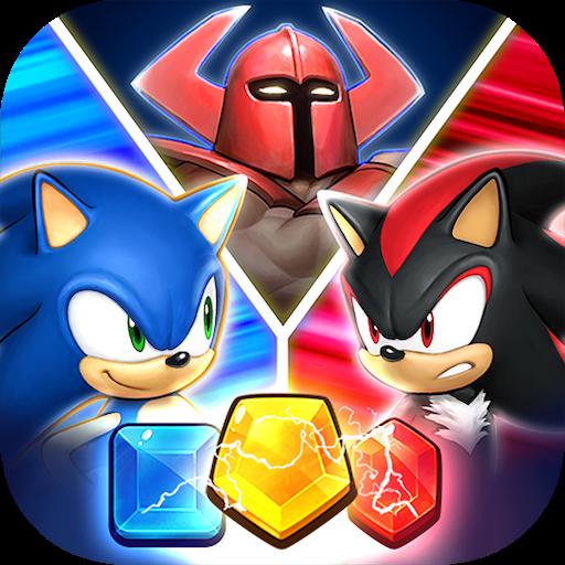 SEGA Heroes: مهمة مطابقة 3
