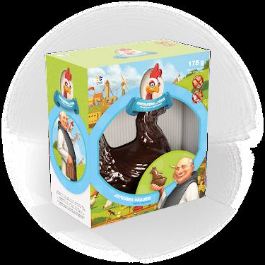 Chocolat Poule Duchesse Figurines régulières