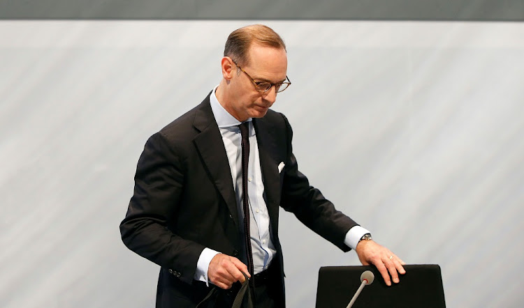Allianz CEO Oliver Baete. Picture: REUTERS