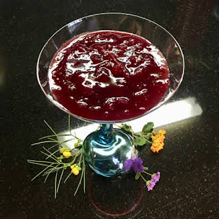 Cranberry Roselle Lime Sauce.