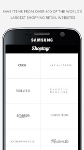 Shoptagr- screenshot thumbnail