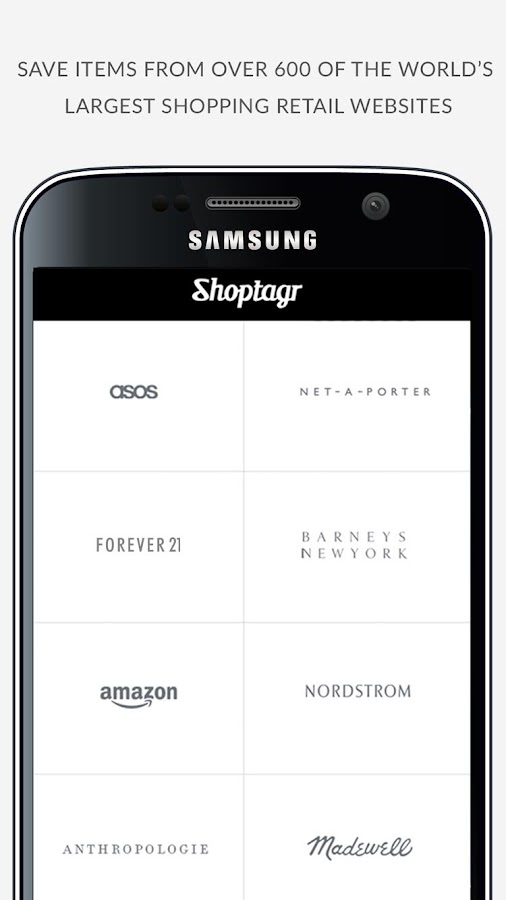 Shoptagr- screenshot