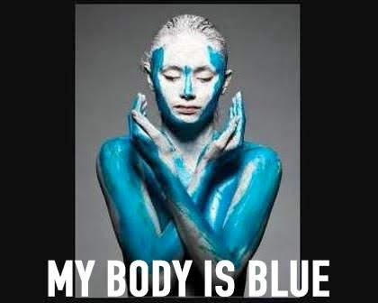 My Body Is Blue
