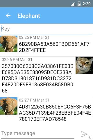 SMS Encryption (Free) screenshot 2