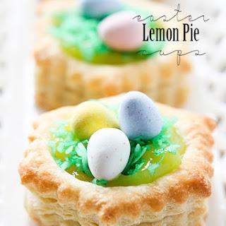 Easter Lemon Pie Cupcakes