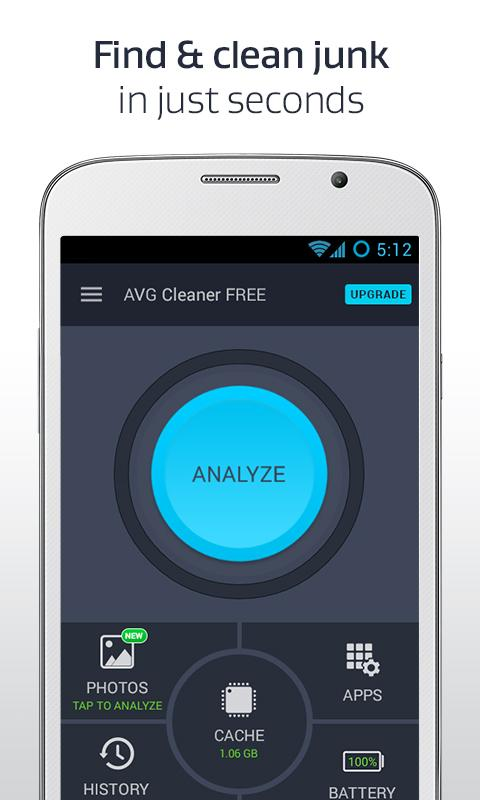AVG Cleaner - Phone Clean-Up- screenshot