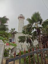 Photo: vieux phare de Pondy