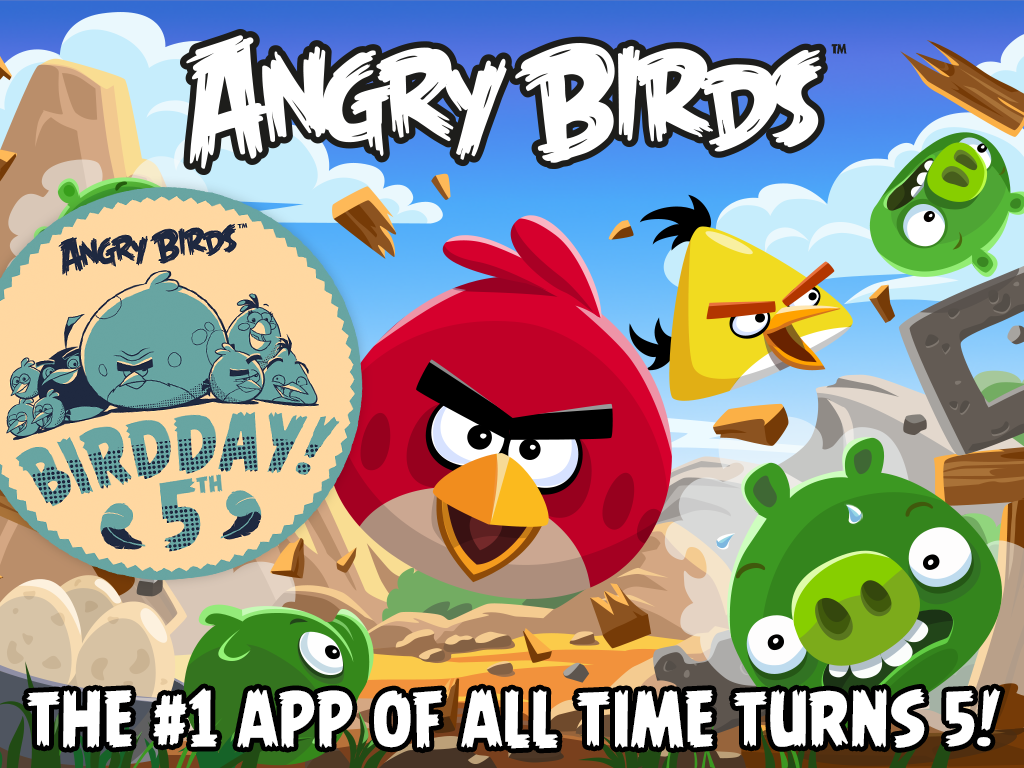 Angry Birds - screenshot