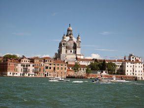 Photo: First stop, Venice.  This is Santa Maria church seen from the lagoon side.