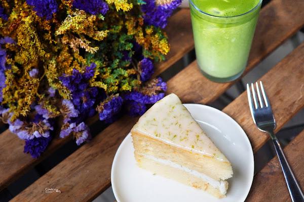 白蓮達coffee|行天宮不限時咖啡廳 檸檬戚風蛋糕超好吃!
