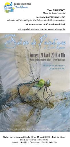 jeanne PAPA _invitée d'honneur_ salon saint mammes 2018