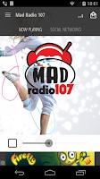 Screenshot of MAD RADIO 107