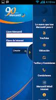 Screenshot of Mercantil Móvil