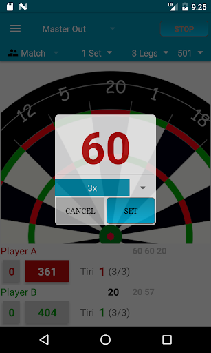 Darts Scorecard  screenshots 2