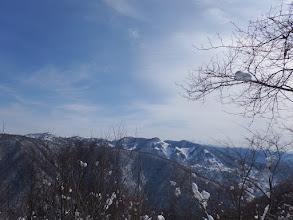 二十五山と奥に北アルプス