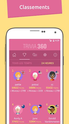 TRIVIA 360  captures d'écran 4