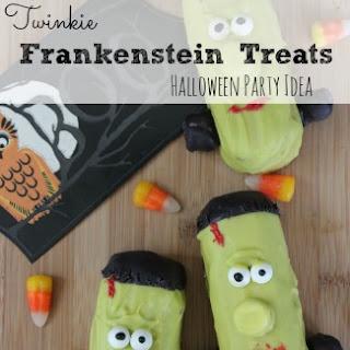 Twinkie Frankenstein Treats | Great For Halloween Parties!