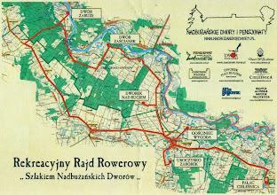 Photo: E9142395 Wygoda - rusza Rekreacyjny Rajd Rowerowy 'Szlakiem Nadbuzanskich Dworow'