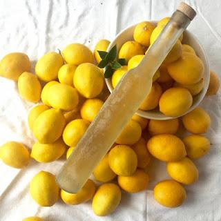 Liquid Sunshine! Homemade Limoncello!
