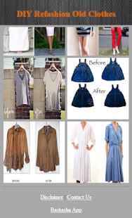DIY Refashion Staré oblečení - náhled