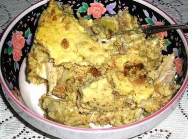 Slow Cooker Turkey & Dressing Casserole
