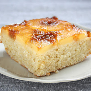 Pineapple Coconut Upside Down Cake